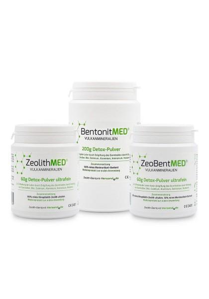 Info-Test-Set Detox-PULVER ultrafein für 60 Tage