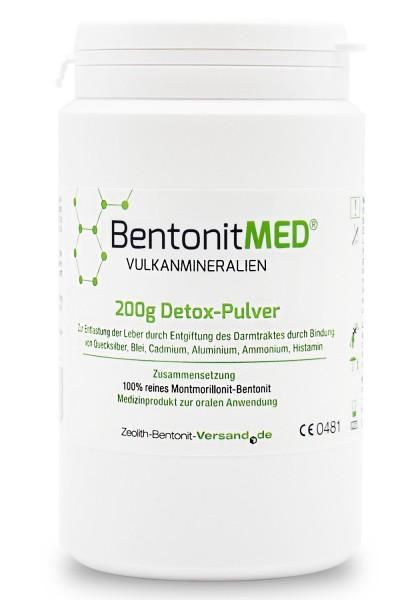 Bentonit MED® Detox-Pulver 200g für 20 Tage