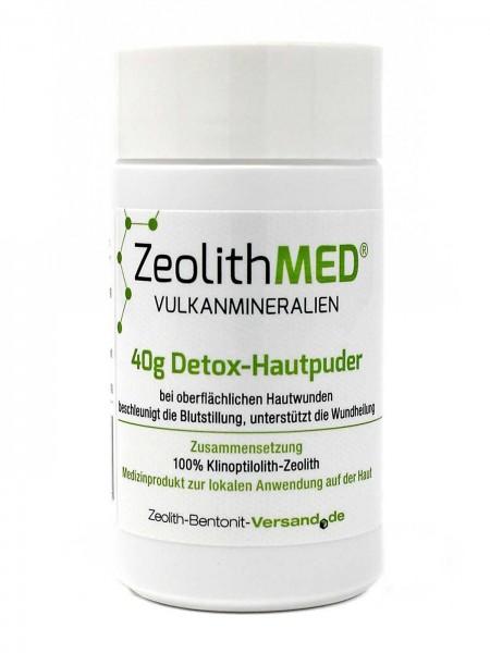 Zeolith MED® Detox-Hautpuder 40g