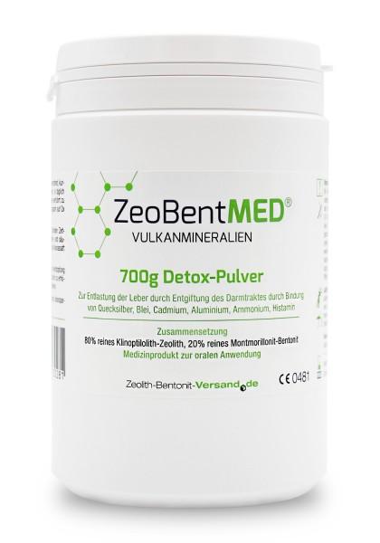 Zeobent MED® Detox-Pulver 700g für 70 Tage