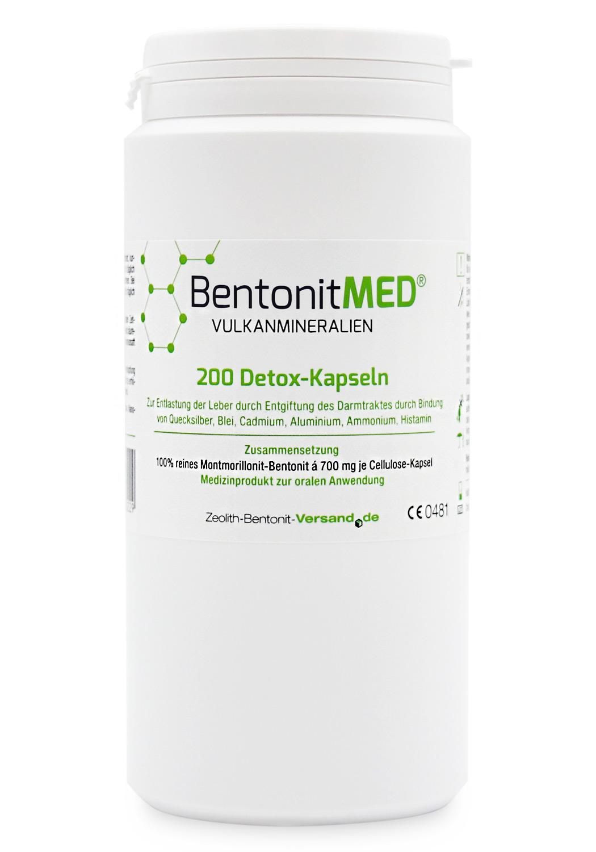 Bentonit Kapseln - Bentonit - Zeolith Bentonit Versand