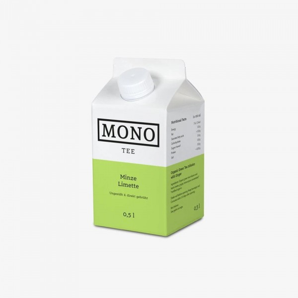 BIO Eistee - Minze Limette
