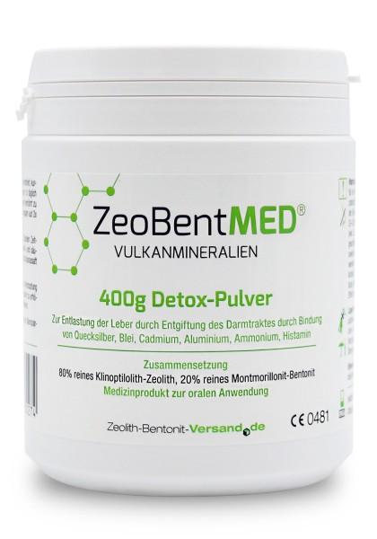 Zeobent MED® Detox-Pulver 400g für 40 Tage