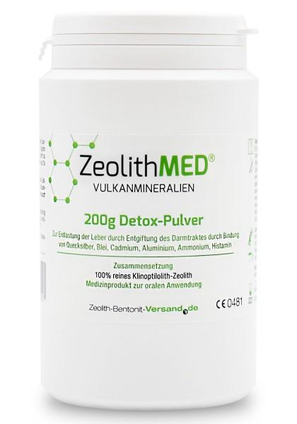 Zeolith MED® Detox-Pulver 200g für 20 Tage
