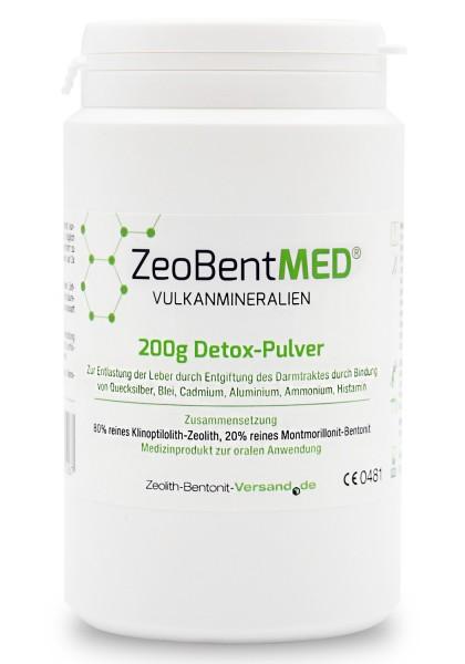 Zeobent MED® Detox-Pulver 200g für 20 Tage