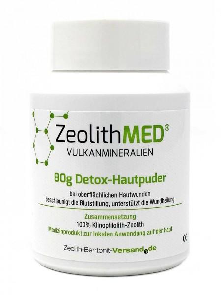 Zeolith MED® Detox-Hautpuder 80g